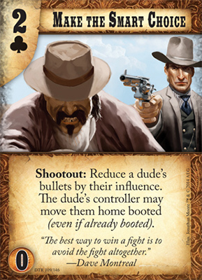 Doomtown Reloaded New Town, New Rules – Make the Smart Choice