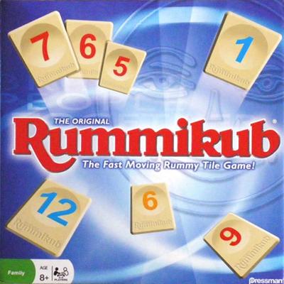 Rummikub - Cover