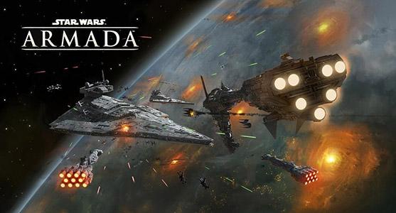 Star Wars Aramada Poster