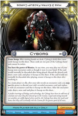 Cosmic Encounter Cosmic Alliance – Cyborg