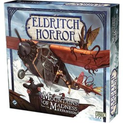 Eldritch Horror Mountains of Madness - Cover