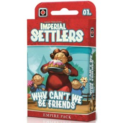 Imperial Settlers why cant we be friends - Cover