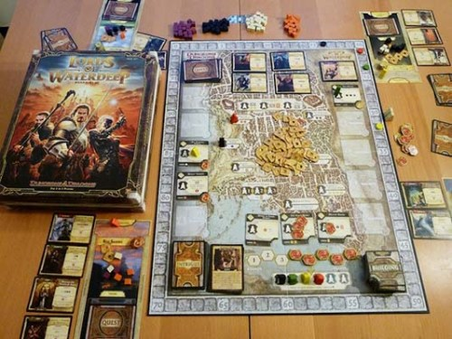 Lords of Waterdeep – Gameplay