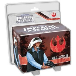 Star Wars Imperial Assault Rebel Troopers Ally Pack - Cover