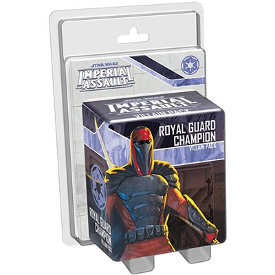 Star Wars Imperial Assault Royal Guard Champion Villain Pack – Cover