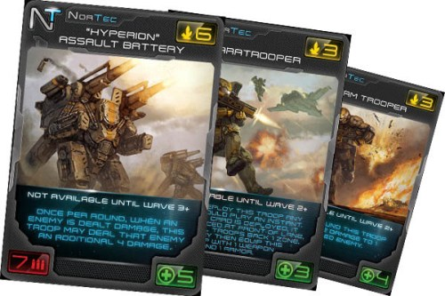 Xenoshyft Onslaught – Cards