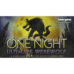 One Night Ultimate Werewolf - Cover