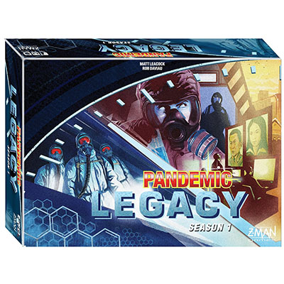 Pandemic Legacy (Blue) - Cover