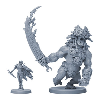 Blood Rage – Miniatures
