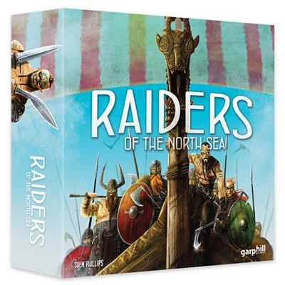 Raiders of the North Sea – Cover