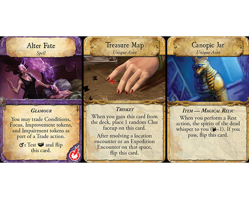 Eldritch Horror Under the Pyramids – Cards