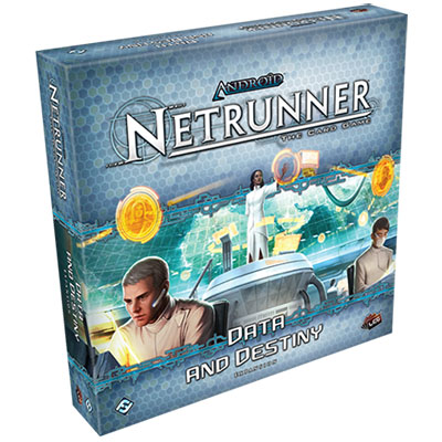 Android Netrunner – Data and Destiny – Cover
