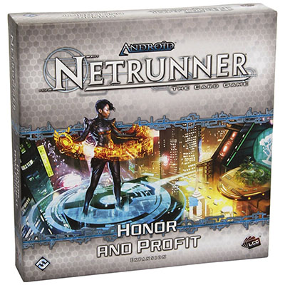 Android Netrunner – Honor and Profit – Cover