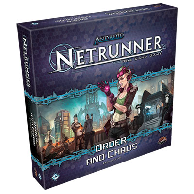 Android Netrunner – Order and Chaos – Cover