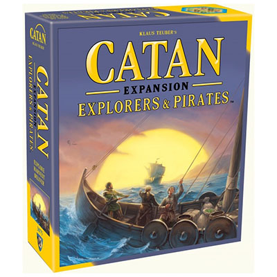 Catan Explorers and Pirates – Cover