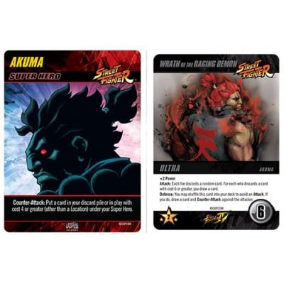 Capcom Street Fighter Deck-Building Game – Akuma