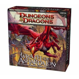 Dungeons & Dragons Wrath of Ashardalon Board Game - Cover