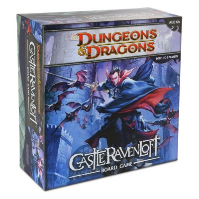Dungeons and Dragons Castle Ravenloft - Cover