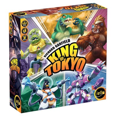 King of Tokyo New Edition - Cover