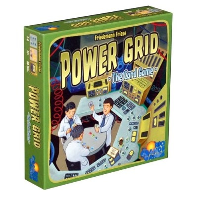 Power Grid The Card Game - Cover