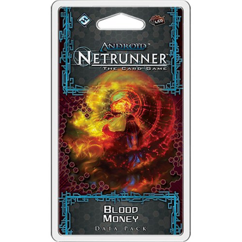 Android Netrunner – Blood Money – Cover