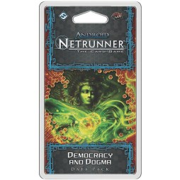 Android Netrunner – Democracy and Dogma - Cover
