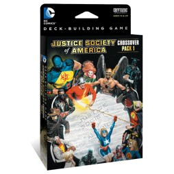 DC Comics Deck Building Game Crossover Pack 1 JSA - Cover