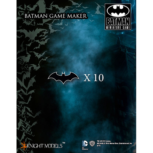 Batman Miniatures Game: Batman Game Markers | Team Board Game