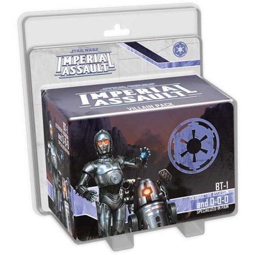 Star Wars Imperial Assault – BT-1 & 0-0-0 Villain Pack – Cover
