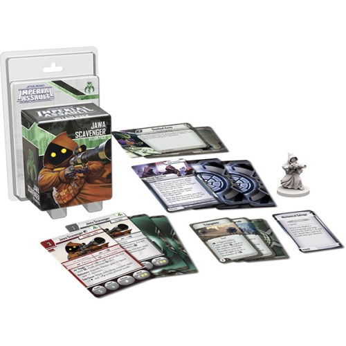 Star Wars Imperial Assault – Jawa Scavenger Villain Pack – Overview
