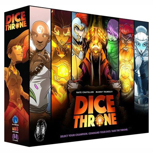 Dice Throne Team Board Game