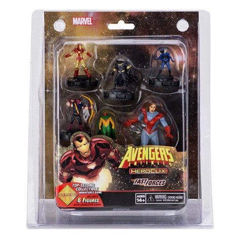 Marvel HeroClix Avengers Infinity Colossal Fast Forces – Cover