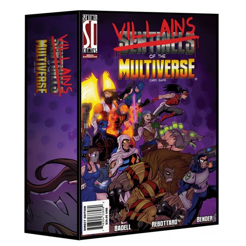 Sentinels of the Multiverse Villains of the Multiverse Expansion – Cover