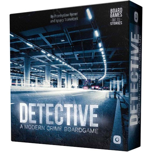 Detective A Modern Crime Board Game – Cover