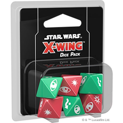Star Wars X-Wing (2nd Edition) Dice Pack – Cover