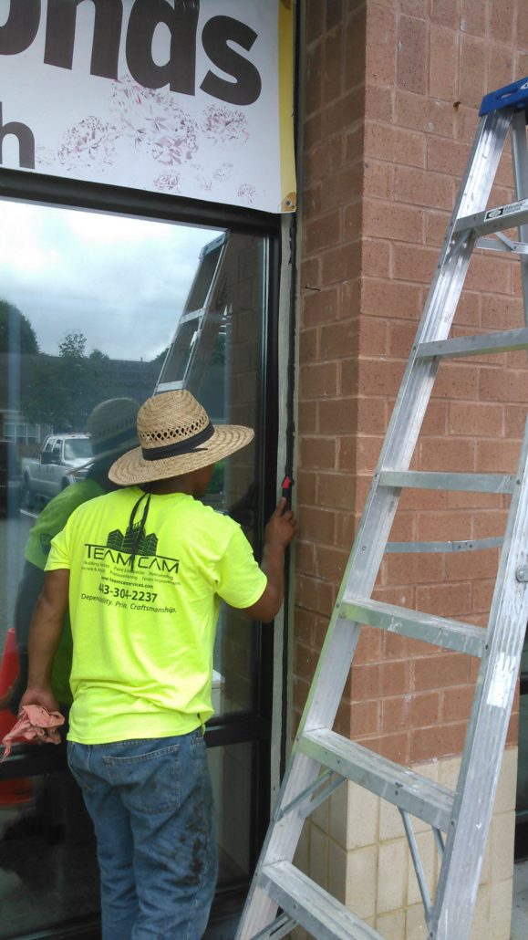 Commercial Commercial Window Caulking Contractor ...