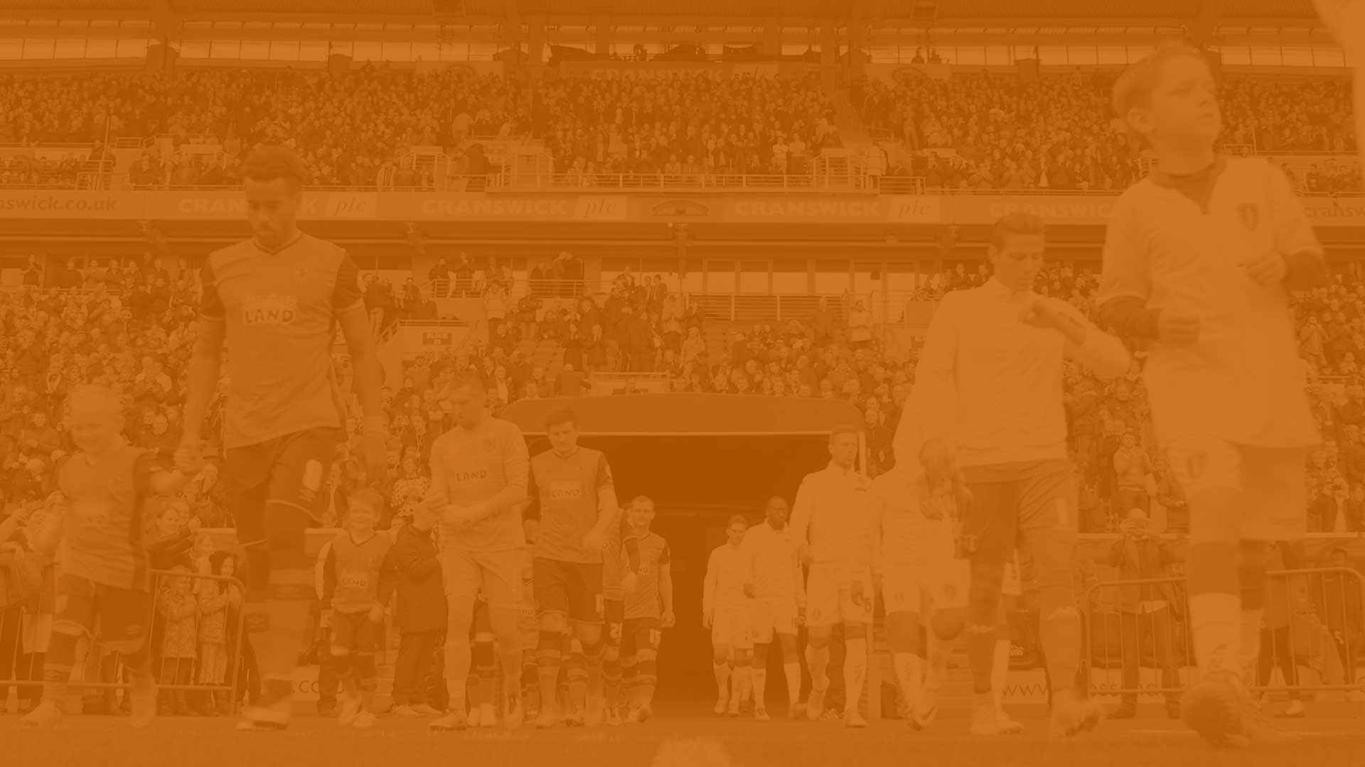 Hull City orange background
