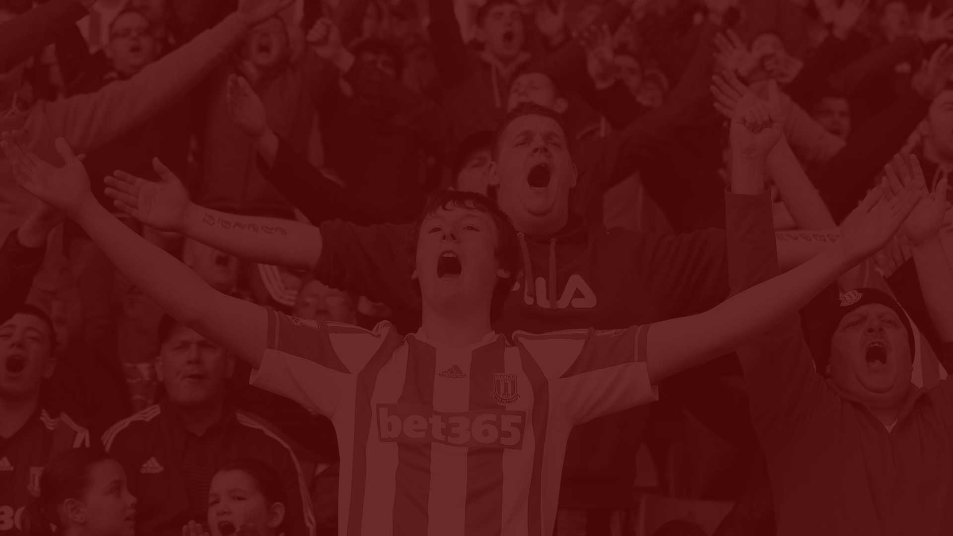 Stoke City red background
