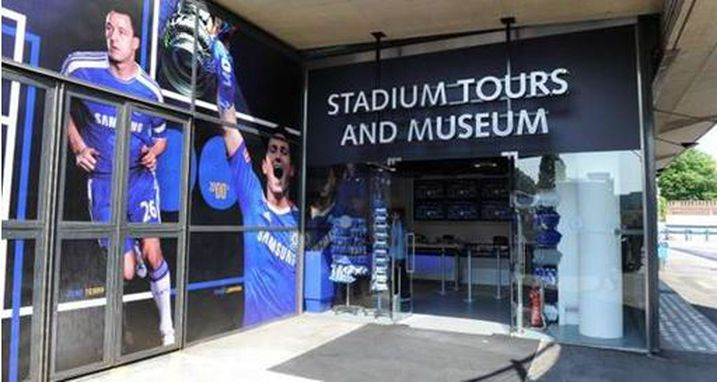 Chelsea Football Club Museum entrance
