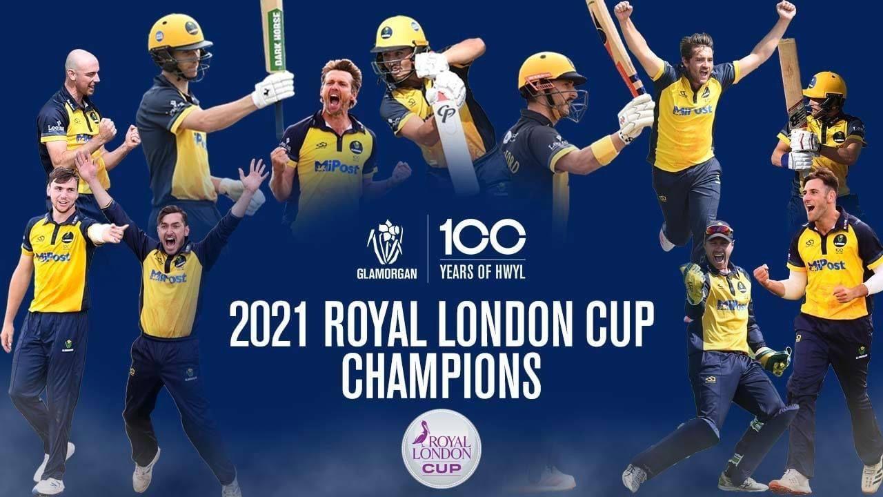 Royal London Cup Champions 2021