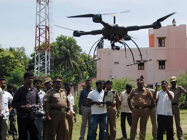 Tamil Nadu police use UAV in investigation