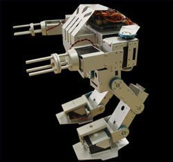 Toy robot mech