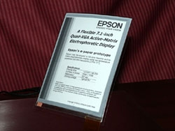 Epson epaper