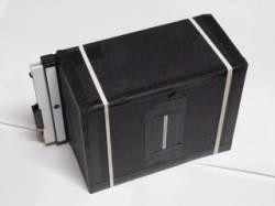 Foamcore 4x5 pinhole camera