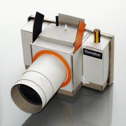 cardboard SLR Camera