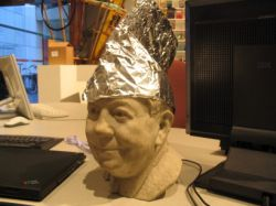 Tinfoil hats are bad?!?