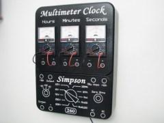 Multimeter clock