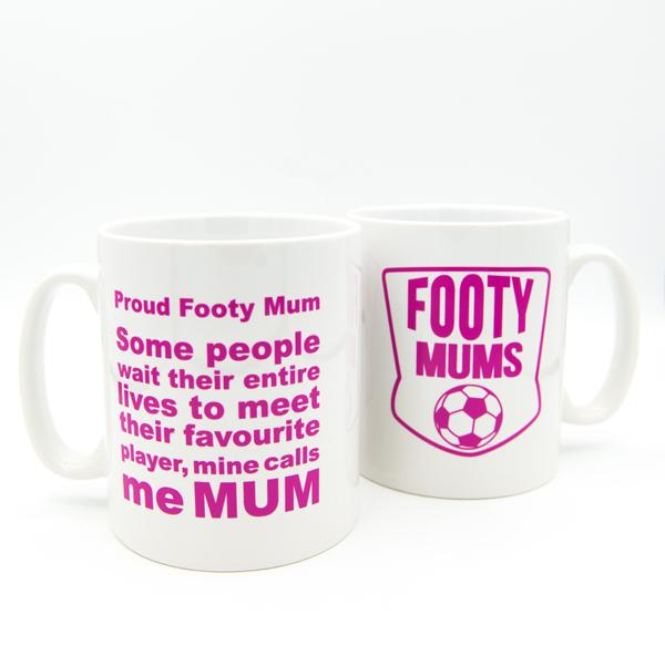 Footy Mum Mug