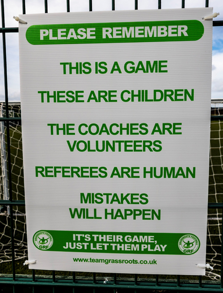 Pitchside Respect Board
