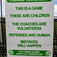 Pitchside  Respect Board A3 Size